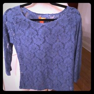 Joe fresh lace top size medium